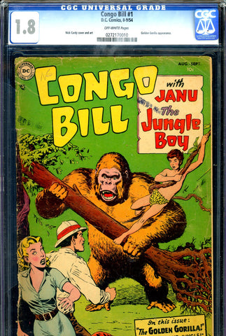 Congo Bill #1   CGC graded 1.8 - SCARCE