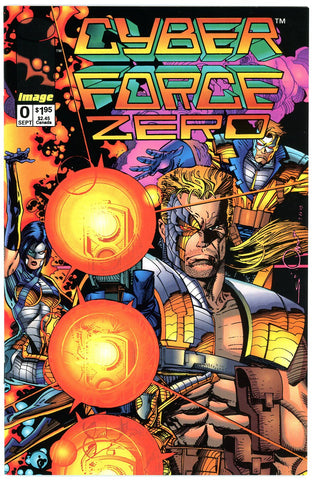 IMAGE - Cyber Force Zero #0 - VF/NEAR MINT (two copies)