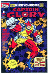 TOPPS - Captain Glory #1 (one-shot) polybagged w/chromium card NM  (two copies)