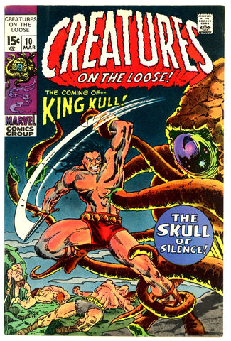 Creatures On The Loose #10  VF/NEAR MINT   1971