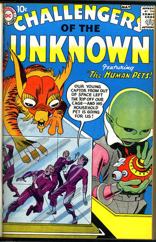 Challengers of the Unknown #01 THRU #22 NEAR MINT- (bound book)