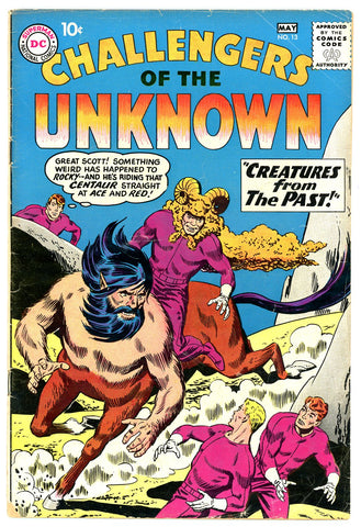 Challengers of the Unknown #13   VERY GOOD+   1960