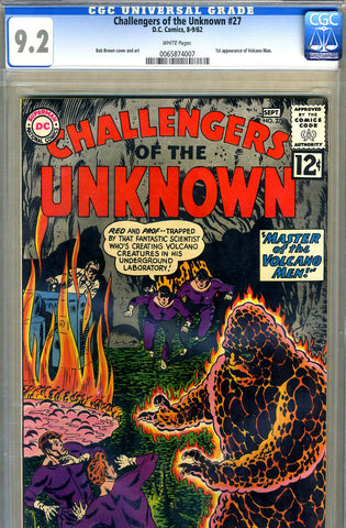 Challengers of the Unknown #27   CGC graded 9.2 - SOLD