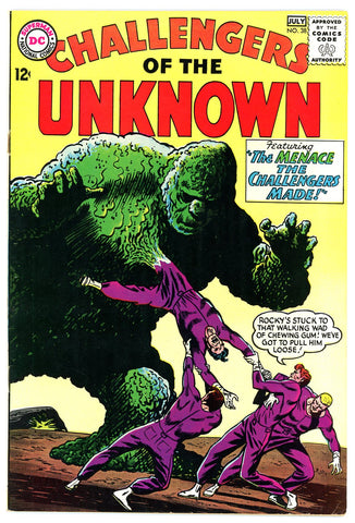 Challengers of the Unknown #38   VERY FINE-   '64