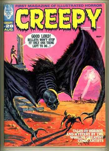 Creepy #028 CGC graded 9.2