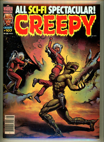 Creepy #107 CGC graded 9.8 HIGHEST GRADED