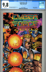Cyberforce #0 CGC graded 9.8 HIGHEST GRADED