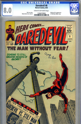 Daredevil #08   CGC graded 8.0 - SOLD!