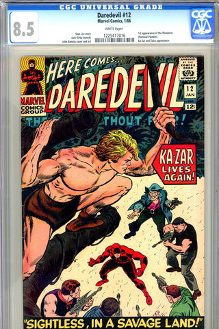 Daredevil #12 CGC graded 8.5 - first Plunderer SOLD!