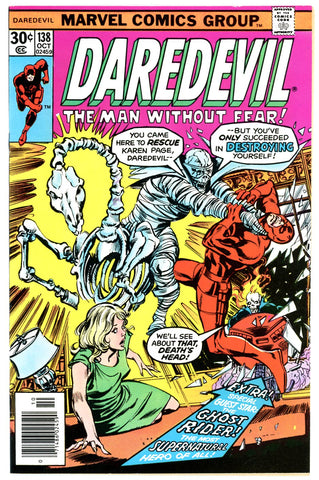 Daredevil #138   NEAR MINT-   1978