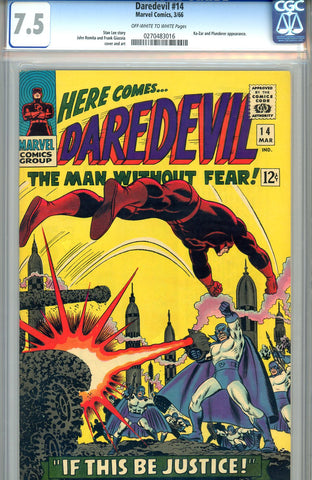 Daredevil #14  CGC graded 7.5 - SOLD!