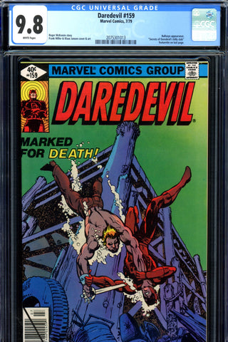 Daredevil #159 CGC graded 9.8 HIGHEST GRADED SOLD!