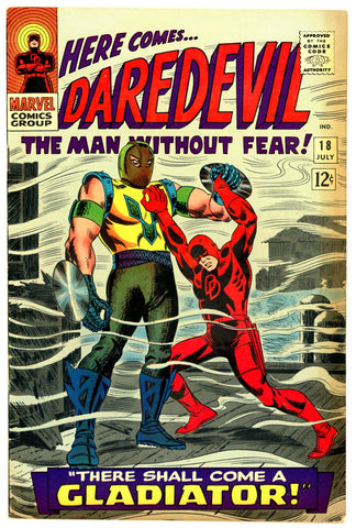 Daredevil #18   FINE+  1966  - first Gladiator