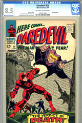 Daredevil #020 CGC graded 8.5 - Owl cover and story