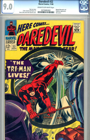 Daredevil #22  CGC graded 9.0 SOLD!