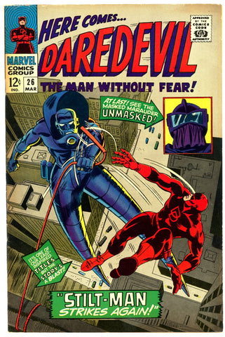 Daredevil #26  VERY FINE   1967