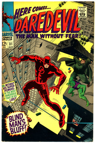 Daredevil #31  VERY FINE+   1967