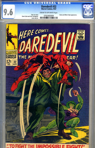 Daredevil #32   CGC graded 9.6 - SOLD