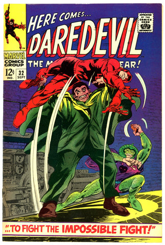 Daredevil #32  VERY FINE+   1967