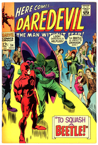 Daredevil #34  VERY FINE+   1967