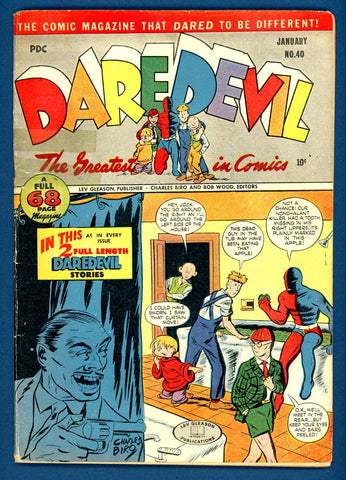 Daredevil #40   G/VERY GOOD   1947