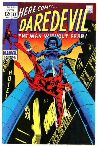 Daredevil #48  VF/NEAR MINT   1969