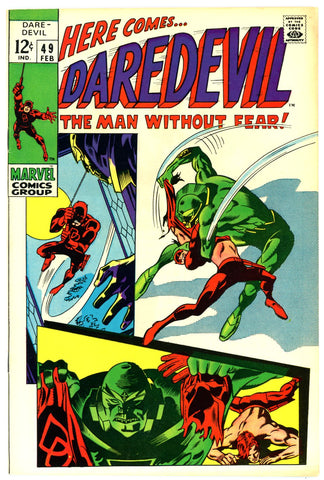 Daredevil #49   VERY FINE+   1969