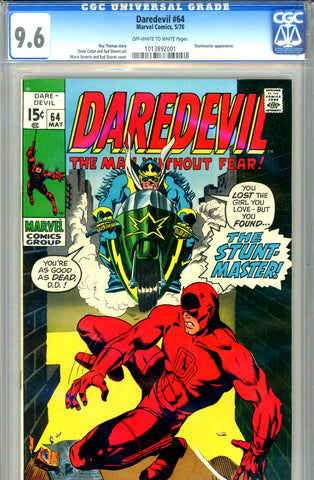 Daredevil #064 CGC graded 9.6