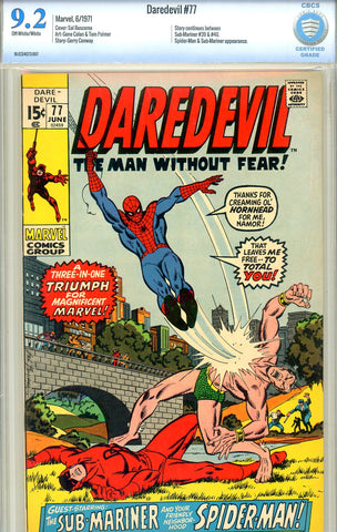 Daredevil #77   CBCS graded 9.2