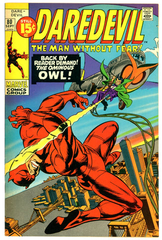 Daredevil #80  NEAR MINT-   1971