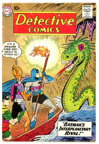 Detective Comics #282   VERY GOOD   1960