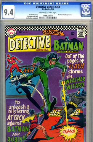 Detective Comics #353   CGC graded 9.4 - SOLD