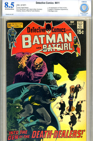 Detective Comics #411   CBCS graded 8.5 -  - SOLD!