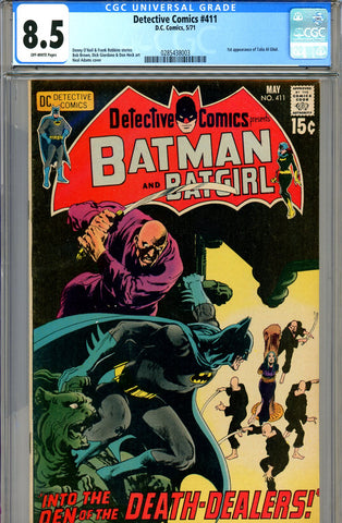 Detective Comics #411 CGC graded 8.5 first Talia Al Ghul SOLD!