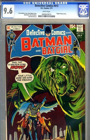 Detective Comics #413   CGC graded 9.6 - SOLD
