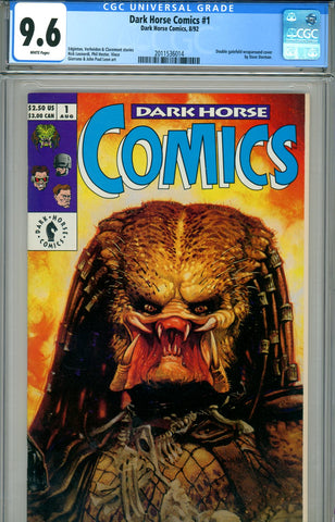 Dark Horse Comics #1 CGC graded 9.6