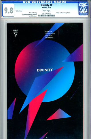 Divinity #1  CGC graded 9.8 - Variant Cover - HIGHEST GRADED