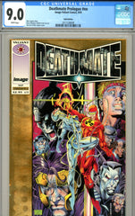 Deathmate Prologue #nn CGC graded 9.0 Gold Edition