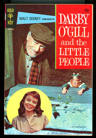 MOVIE COMICS: Darby O'Gill and the Little People #nn   VF/NEAR MINT   1970