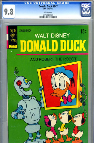 Donald Duck #147   CGC graded 9.8 - SOLD!