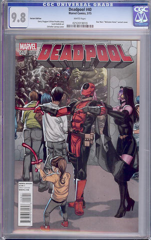 Deadpool #40  CGC graded 9.8 - Variant Ed - HIGHEST GRADED - SOLD!