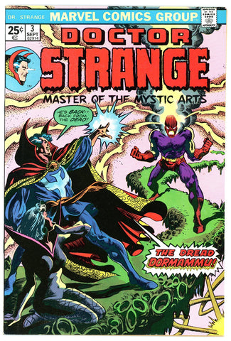 Doctor Strange #03 NEAR MINT-  1974