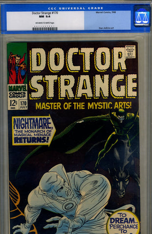 Doctor Strange #170   CGC graded 9.4 - SOLD