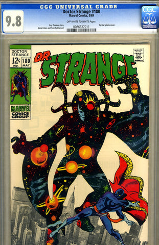 Doctor Strange #180   CGC graded 9.8 - SOLD!