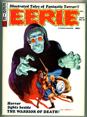 Eerie #010 CGC graded 9.6 - Gray Morrow cover - SOLD!