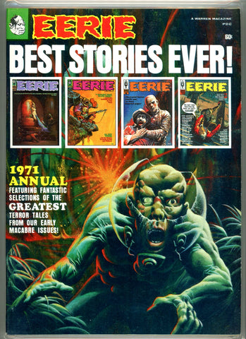 Eerie Annual #nn 1971 CGC graded 9.6 SOLD!