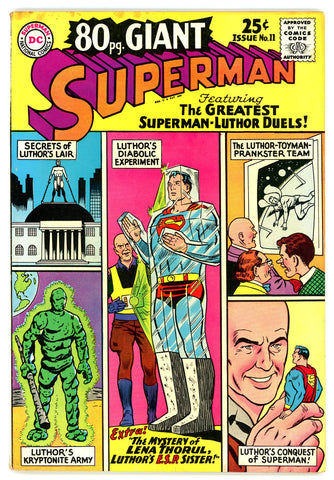 Eighty Page Giant #11   VERY FINE-   1965  - Superman