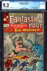Fantastic Four #033 CGC graded 9.2 - first Attuma