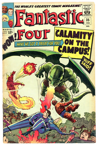 Fantastic Four #35   VERY GOOD+   1965