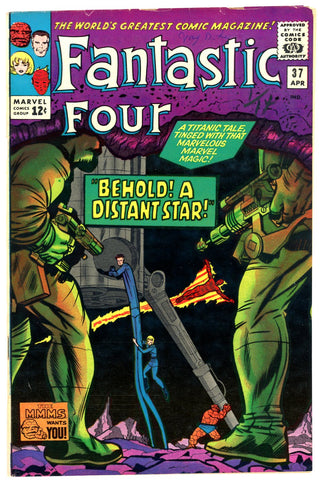 Fantastic Four #037  VERY GOOD 1965